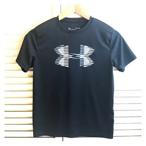 Under Armour Black Boys Large Tee T-shirt